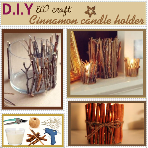 Diy 3 creative candle holders for Creative candle holders