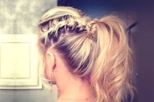 Why didn't I think of this? -__- love, but forget the last step; make tiny braids instead, so they flow through the tail