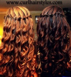 wedding Hairstyles With Braids And Curls | Summer Hairstyles for Woman