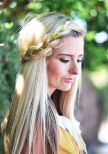 Try this standout summer hairstyle...