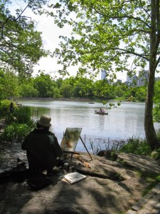Artist.painting.at.Central.Park.New.York