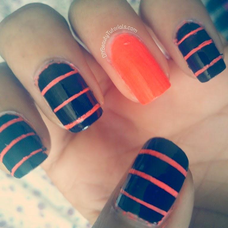 diy 4 bright and cute summer nails